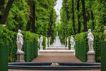 St. Petersburg Summer Garden, the Emperor's residence