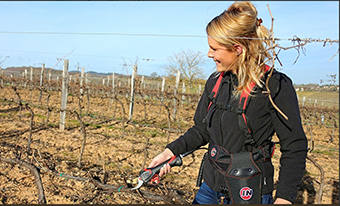 INFACO - pruning shears used from a nice girl