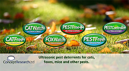 Pest Deterrents - Concept Research Ltd
