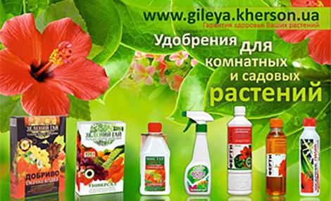 GILEYA, fertilizers - indoor plants & garden flowers