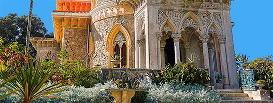 Monserrate Palace Gardens, Sintra Portugal