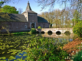 Castle Garden Arcen in Netherlands