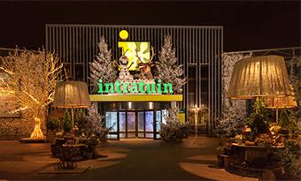 INTRATUIN garden centre at Christmas