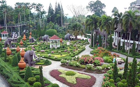 Nong Nooch garden Thailand